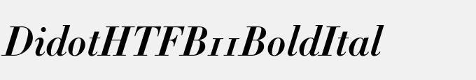 Didot-HTF-B11-Bold-Ital