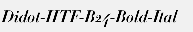 Didot-HTF-B24-Bold-Ital