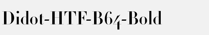 Didot-HTF-B64-Bold