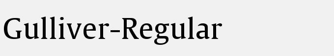 Gulliver-Regular