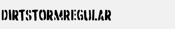 Dirtstorm-Regular
