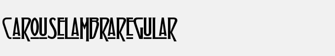 Carouselambra-Regular