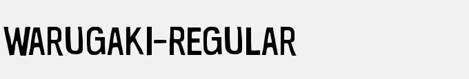 Warugaki-Regular