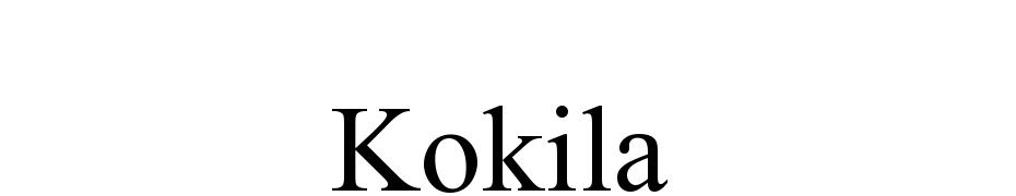 Kokila Font Download Free
