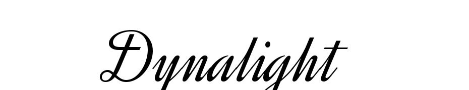 Dynalight cкачати шрифт безкоштовно