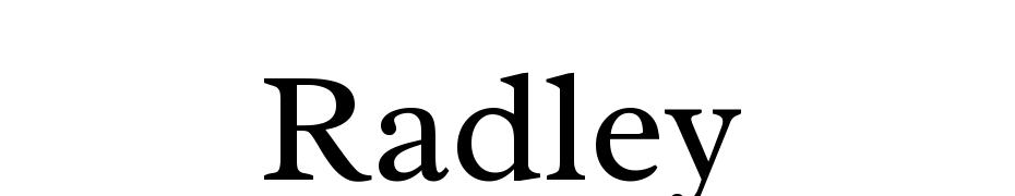 Radley Font Download Free