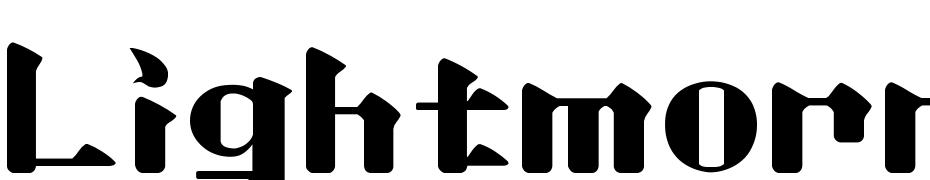 Lightmorning Font Download Free