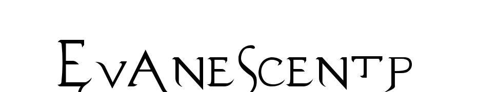Evanescentp Font Download Free