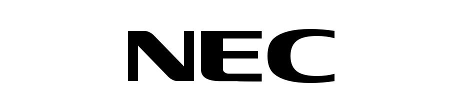NEC Schrift Herunterladen Kostenlos