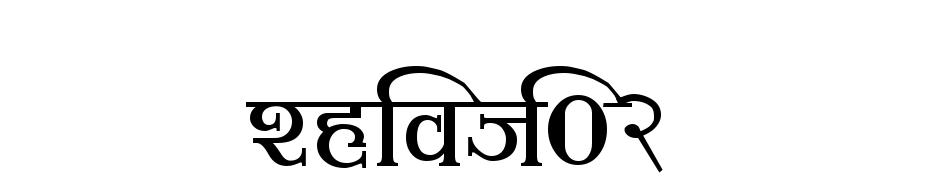 Shivaji02 Yazı tipi ücretsiz indir