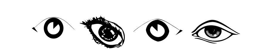 Eyes Font Download Free