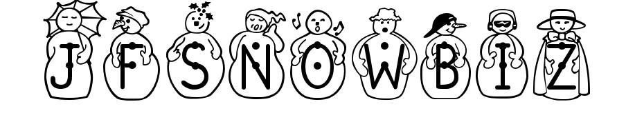 JFSnowbiz Yazı tipi ücretsiz indir