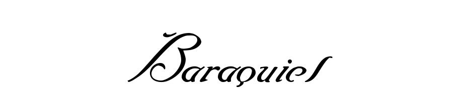 Baraquiel Yazı tipi ücretsiz indir