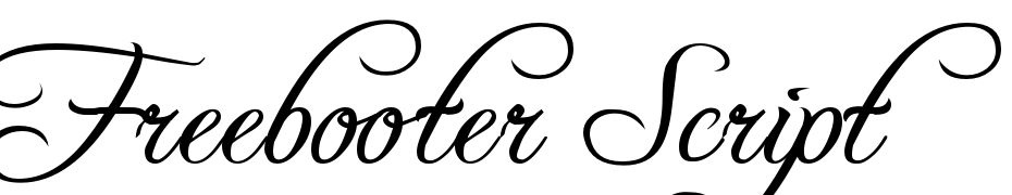 Freebooter Script Font Download Free