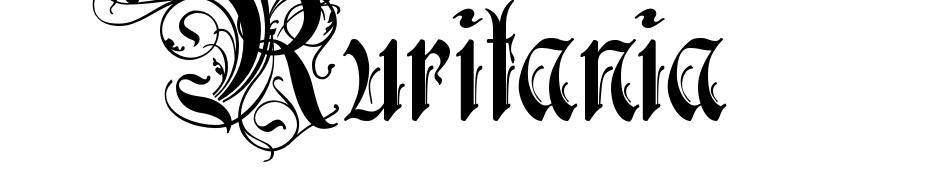 Ruritania Font Download Free