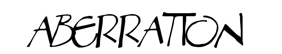 Aberration Schrift Herunterladen Kostenlos
