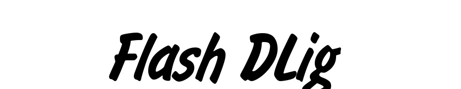 Flash DLig Font Download Free