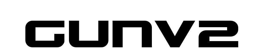 Gunship Font Download Free