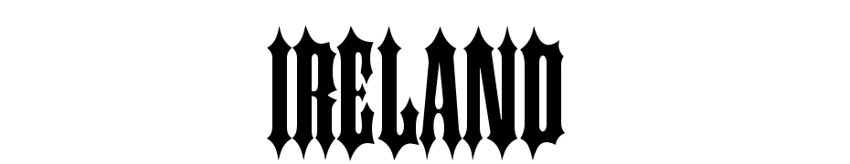 Ireland Font Download Free
