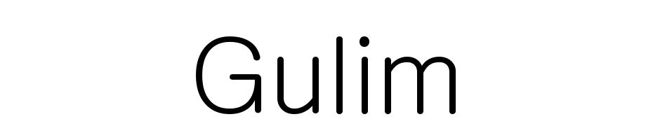 Gulim Font Download Free