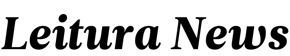 Leitura News Italic 4 Font Download Free