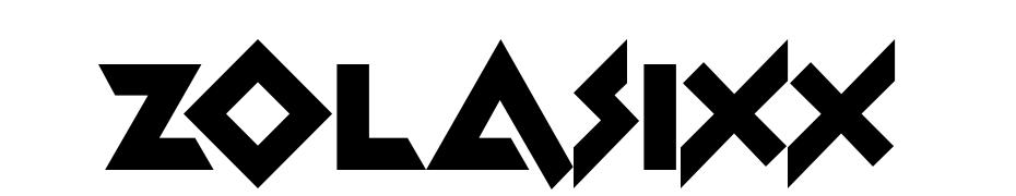 Zolasixx Font Download Free