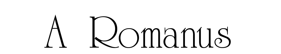 A_Romanus Font Download Free