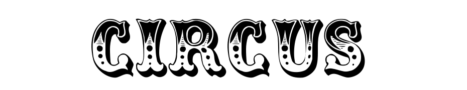 Circus Font Download Free