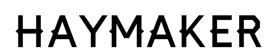 Haymaker Font Download Free