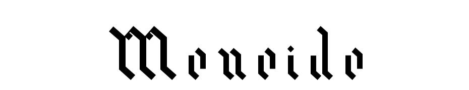 Meneide Font Download Free