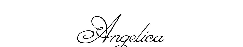 Angelica Font Download Free