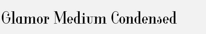 Glamor Medium Condensed