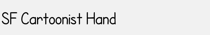 SF Cartoonist Hand