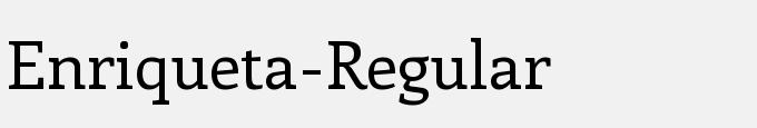 Enriqueta-Regular