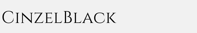 Cinzel-Black