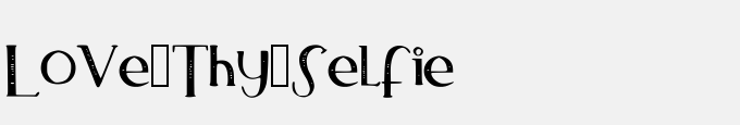 Love_Thy_Selfie