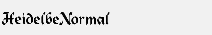 Heidelbe-Normal