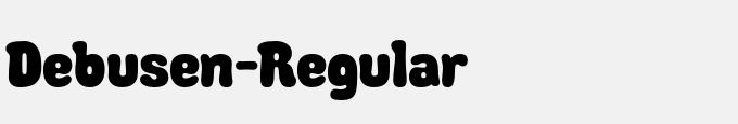 Debusen-Regular