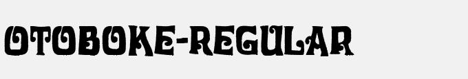 Otoboke-Regular