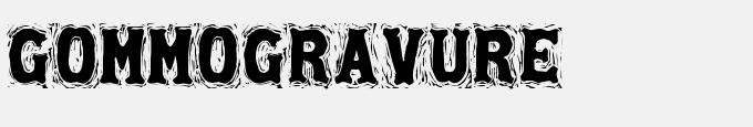 Gommogravure