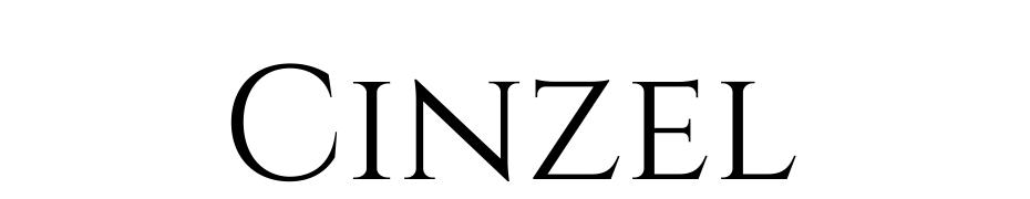Cinzel Fuente Descargar Gratis