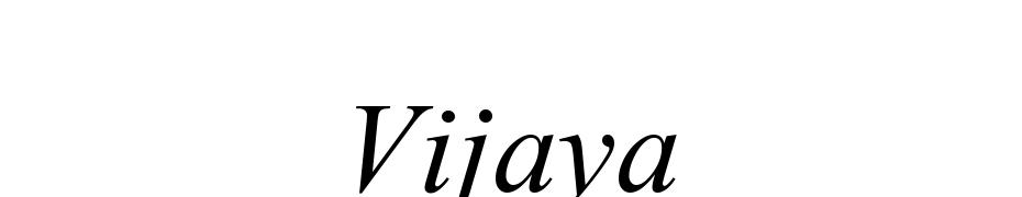 Vijaya Font Free Download