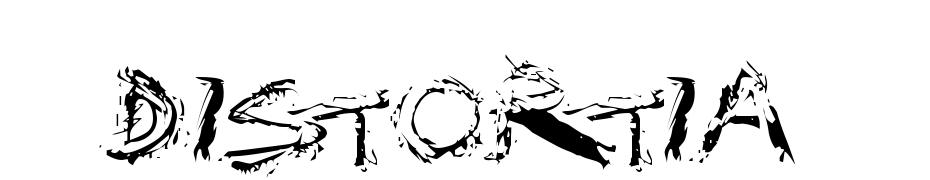 Distortia Font Download Free