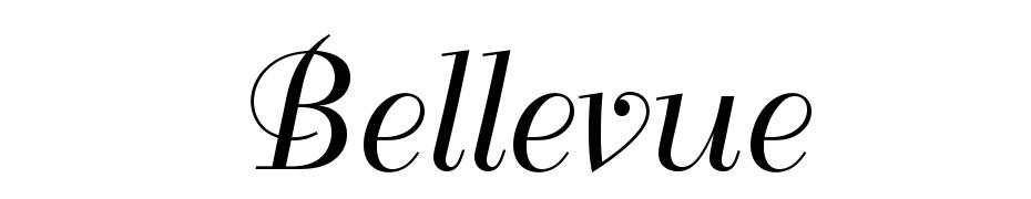 Bellevue cкачать шрифт бесплатно