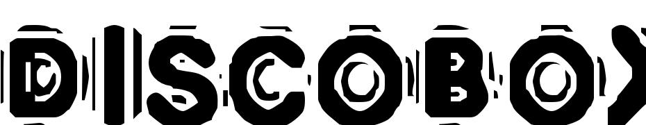 DISCOBOX Yazı tipi ücretsiz indir