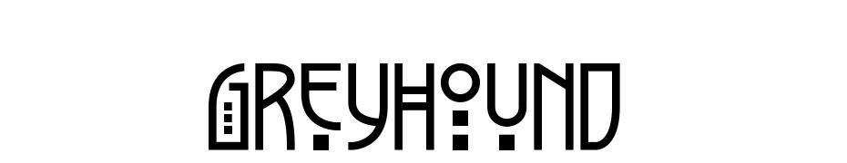 Greyhound cкачать шрифт бесплатно