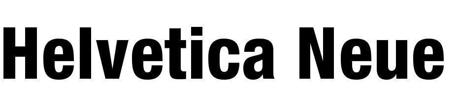 Helvetica Neue Condensed Free Download Mac