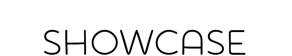 Showcase Font Download Free