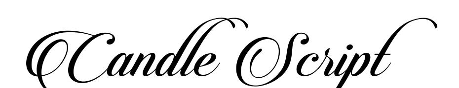 Candlescript Font Download Free