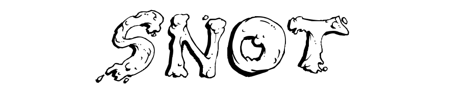 Snot Font Download Free